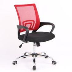 Hyle pisarniški stol, vrt. HY-7070, rdeč