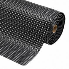Černá protiúnavová průmyslová laminovaná rohož Sky Trax - 1,9 cm