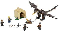LEGO zestaw Harry Potter 75946 Węgierski Smok z Ciernistym Ogonem: Turniej trzech magów