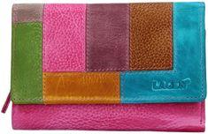 Lagen Női bőr pénztárca LG-11/D Fuch/Multi