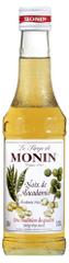 MONIN Makadamový oříšek, sirup 0,25 l