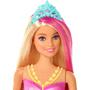 5 - Mattel Barbie Svítící mořská panna s pohyblivým ocasem - běloška
