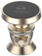 Mcdodo Magnetický držák na palubní desku pro mobilní telefon, zlatá, CM-2570