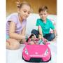 3 - Mattel Barbie Różowy Cabriolet DVX59