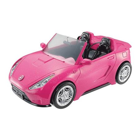 Mattel Barbie Różowy Cabriolet DVX59
