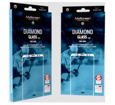 Screenprotector zaščitno kaljeno steklo za iPhone XR – Diamond Glass Edge Full Glue, črno