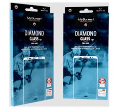 Screenprotector zaščitno kaljeno steklo za iPhone XS / iPhone X – Diamond Glass Edge Full Glue, črn