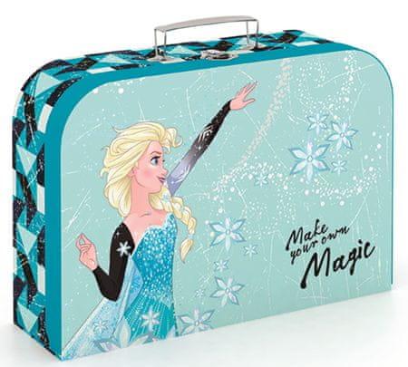Karton P+P Frozen mintázatú bőrönd lamino 34 cm