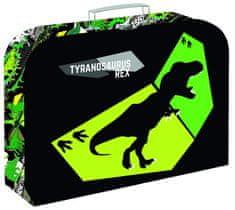 Karton P+P Kufřík lamino 34 cm T-rex