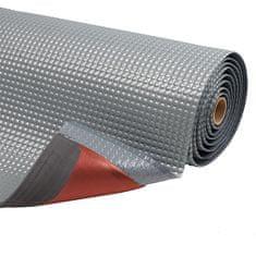 Šedá protiúnavová průmyslová laminovaná rohož Sky Trax - 1,9 cm