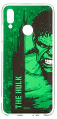 MARVEL Hulk 001 Zadní Kryt pro Huawei P Smart 2019 Green MPCHULK104