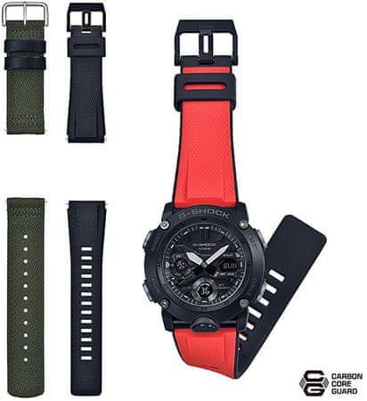 Casio G-Shock Carbon Core Guard GA-2000E-4ER (633) - Dárkový set