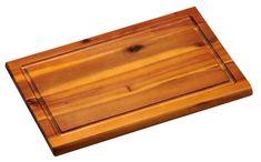 Kesper Krájecí prkénko s dřážkou, akátové dřevo, malé