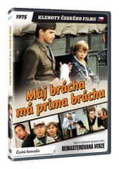 Můj brácha má prima bráchu - edice KLENOTY ČESKÉHO FILMU (remasterovaná verze) - DVD