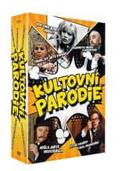 Kultovní parodie (5DVD) - DVD