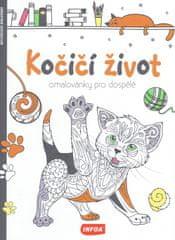 autor neuvedený: Omalovánky pro dospělé - Kočičí život