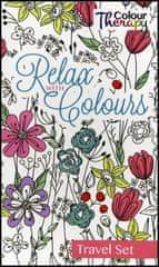Kolektív autorov: Relax with Colours-Maľovanky - cestovný set