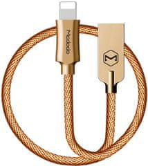 Mcdodo Kabel do transmisji danych Lightning, 1,2 m, złoty, CA-3920