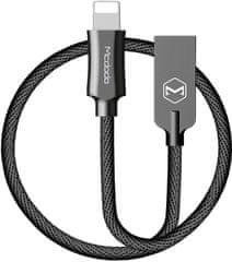 Mcdodo Knight Lightning datový kabel, 1,2 m, černá, CA-3921