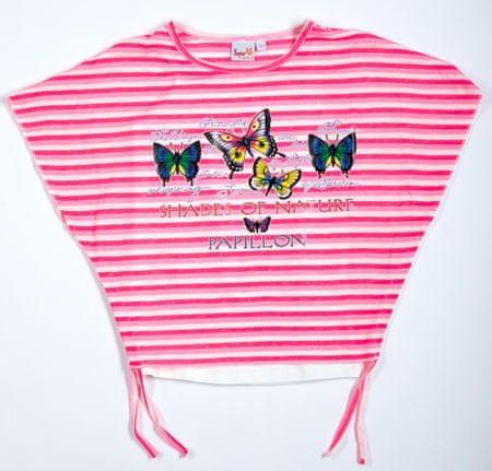 Topo dievčenské tričko 170 ružová