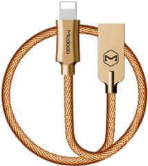 Mcdodo Kabel do transmisji danych Lightning, 1,8 m, złoty, CA-3923