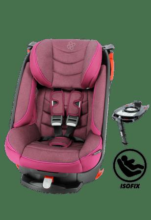 Nania avtosedež Migo Satellite Isofix Platinum, Groseille, roza