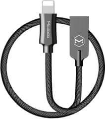 Mcdodo Knight Lightning datový kabel, 1,8 m, černá, CA-3924