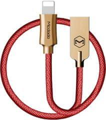Mcdodo Kabel do transmisji danych Lightning, 1,2 m, czerwony, CA-3926