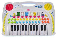 Mikro hračky Pianko so zvieratkami 38,5x27,5cm na batérie so zvukom