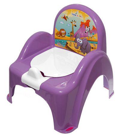 COSING Nočník - stolička (hracia) fialová