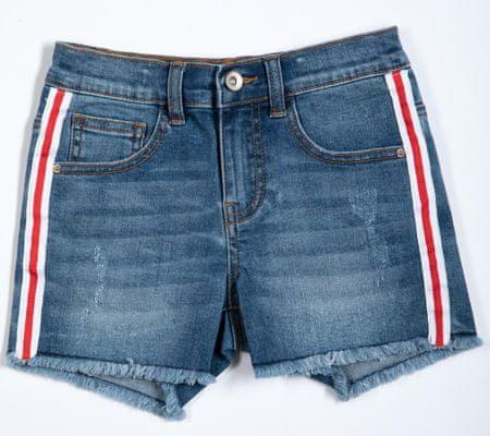 Topo dekliške jeans kratke hlače, 134, modre