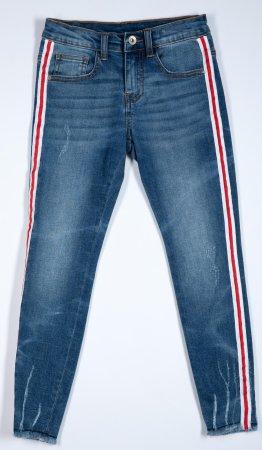 Topo hlače za djevojčice, plave, 128