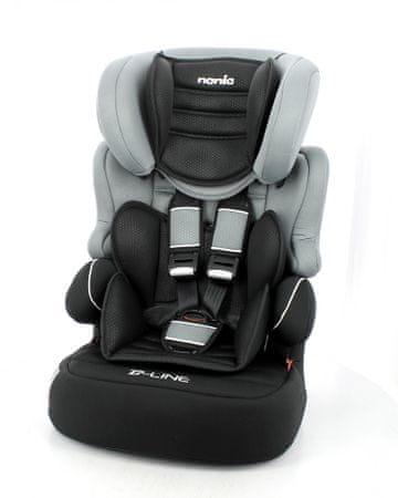 Nania fotelik samochodowy BeLine SP Luxe Grey