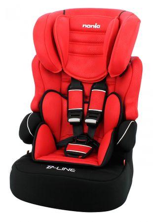Nania autosjedalica BeLine SP Luxe, Red, crvena