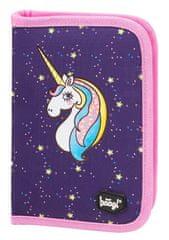 BAAGL Školní penál klasik Unicorn