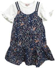 Topo dievčenské šaty s tričkom