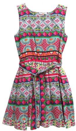 Topo dívčí šaty 92 vícebarevná