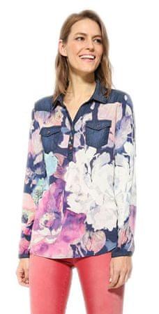 a7b684dd Desigual Bluzka damska Blusa Floral 17WWBW18 5000 (rozmiar XS)