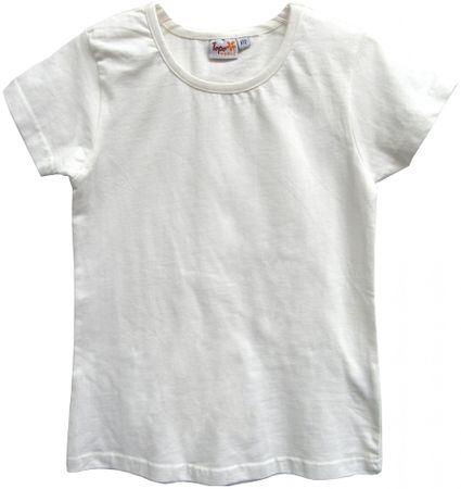 Topo dekliška majica, 92, bela