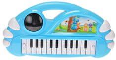 Mikro hračky Pianko 34x17,5cm na baterie, modrá