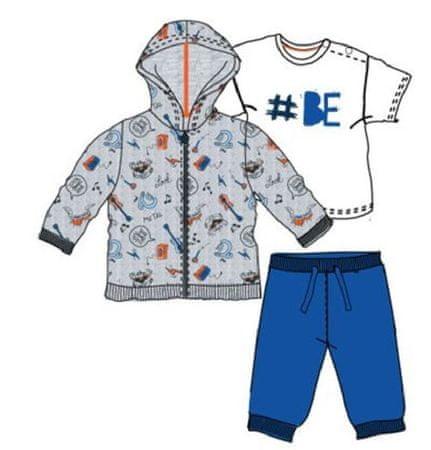 Carodel chlapčenský set 80 biela/modrá