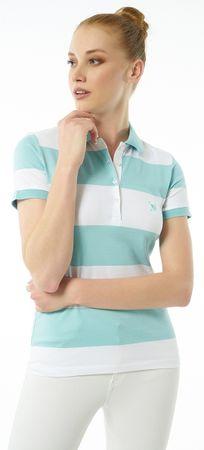 AUDEN CAVILL dámská polokošile XL světle modrá