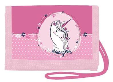 Stil denarnica za nošenje okrog vratu Unicorn