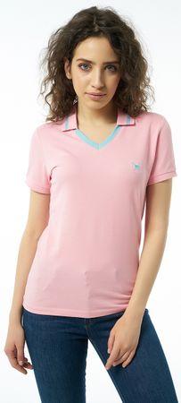 AUDEN CAVILL dámská polokošile XL růžová