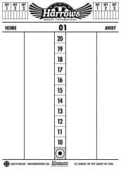 Harrows Scoreboard tabule 47,5 x 34 cm