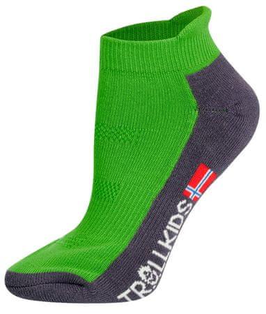 Trollkids dětské nízké ponožky 39 - 42 růžová