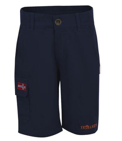 Trollkids otroške kratke hlače, 140, temno modre
