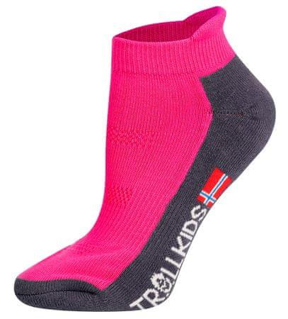 Trollkids detské nízke ponožky 39 - 42 modrá
