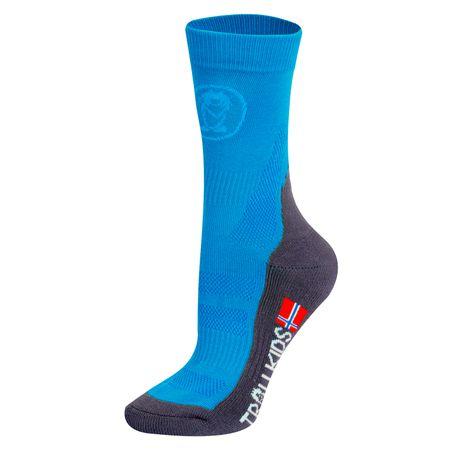 Trollkids detské ponožky 39 - 42 modrá
