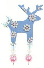 Deers Malý světle modrý jelínek Fatsia